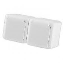 Forixdupla dugalj fehér IP 44