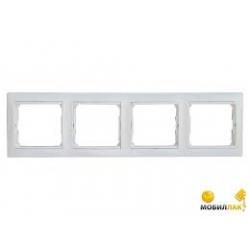 Valena keret fehér 4-es vizszintes