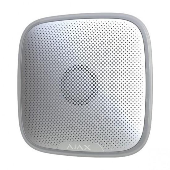 AJAX Vezetéknélküli kültéri hang-/fényjelző állítható hangerővel