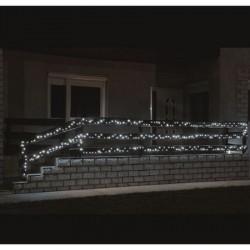 100db-os hidegfehér LED-es izzósor, 7m, IP44, 230V - KKL 100C/WH