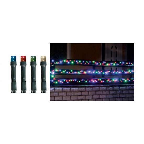 100db-os színes LED-es izzósor, 7m, IP44, 230V - KKL 100C/M