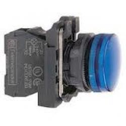 XB5 AVB6 LED-es jelzõlámpa, kék, 24V
